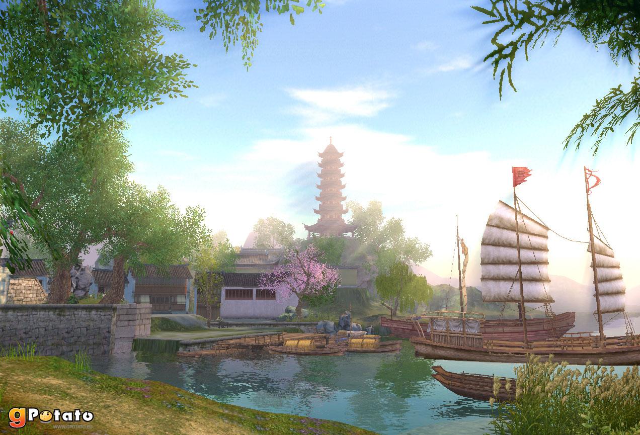 Cliquez sur l'image pour la voir en taille réelleNom : Age_of_Wulin_screenshot_Harbour.jpgAffichages : 1115Taille : 369,0 KoID : 110