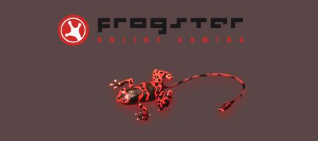 Cliquez sur l'image pour la voir en taille réelleNom : Frogster Logo new.jpgAffichages : 468Taille : 28,2 KoID : 2602