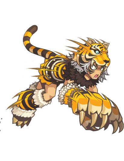 Cliquez sur l'image pour la voir en taille réelleNom : LostSaga_Tiger_Artwork1.jpgAffichages : 128Taille : 54,6 KoID : 5197