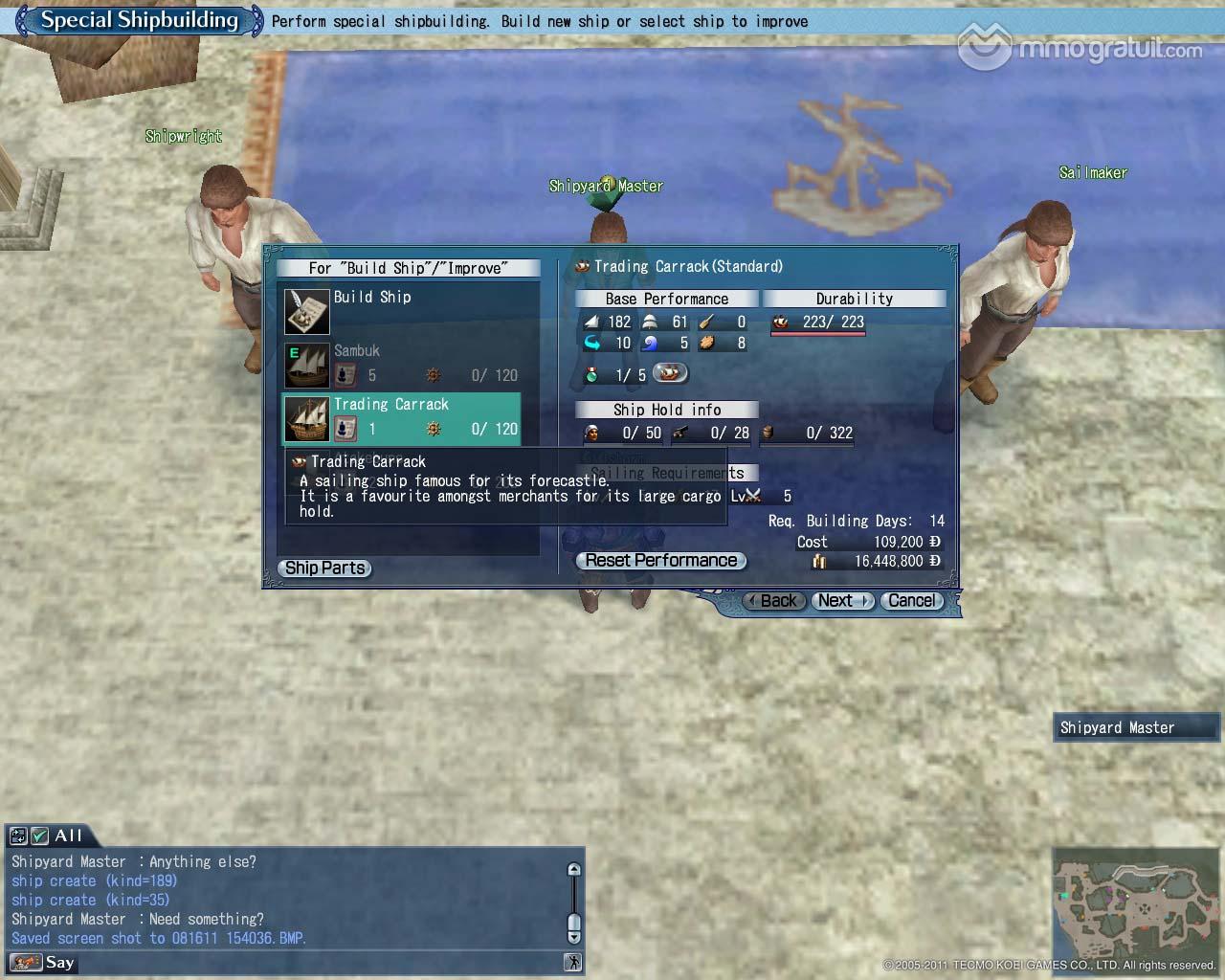 Cliquez sur l'image pour la voir en taille réelleNom : Build Ship copia.jpgAffichages : 242Taille : 184,4 KoID : 9274