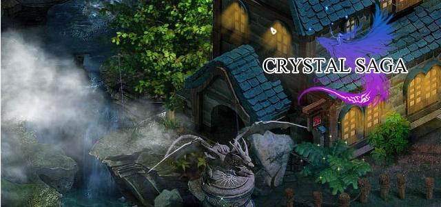 La version française de Crystal Saga en bêta ouverte