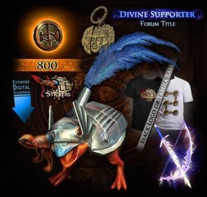 Divine pack