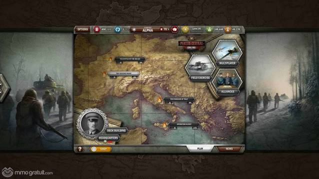 Panzer General Online shot 2 copia
