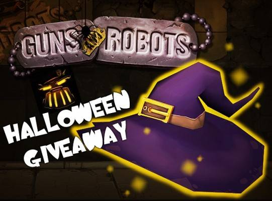 Halloween_WitchHat_Guns and Robots