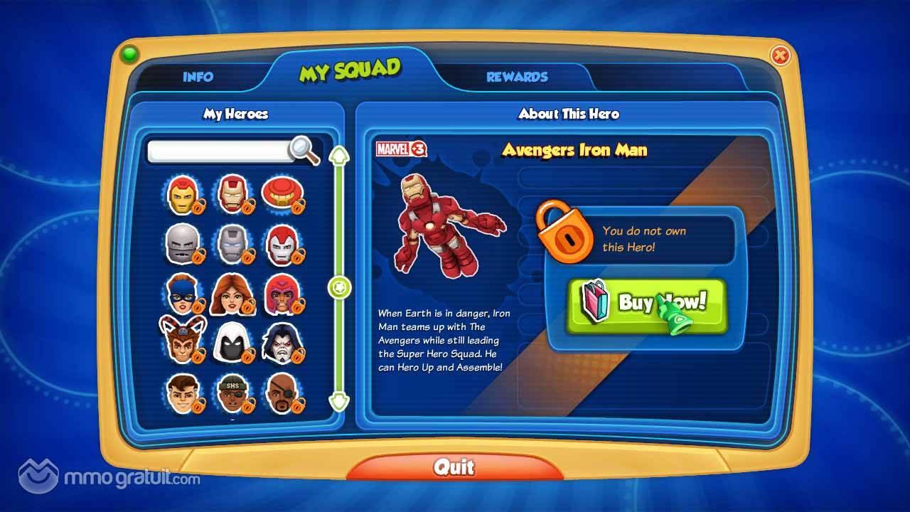marvel super hero squad online enfin les super héros parlent la ...