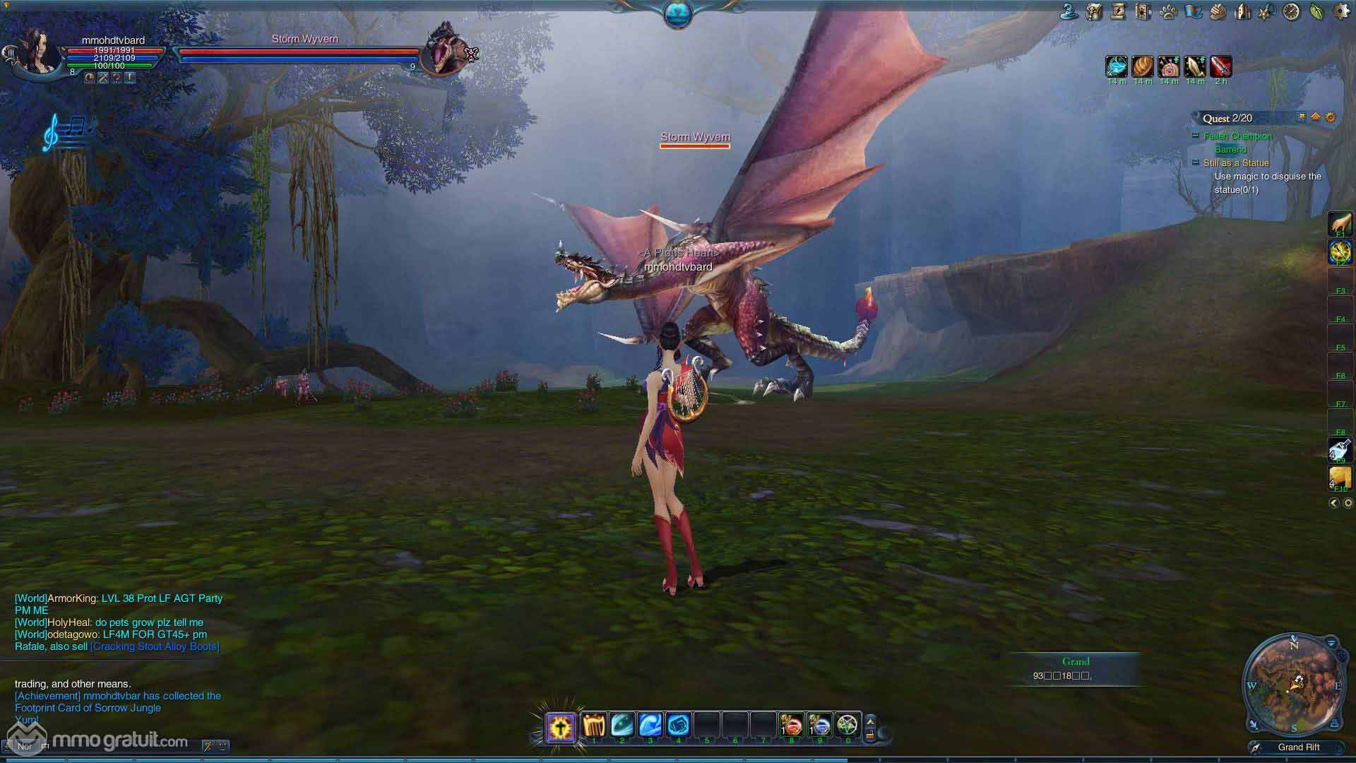 best free to play mmorpg games ever