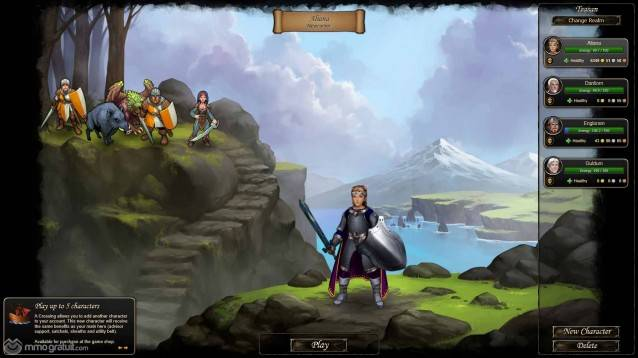Therian Saga screenshot 1 copia
