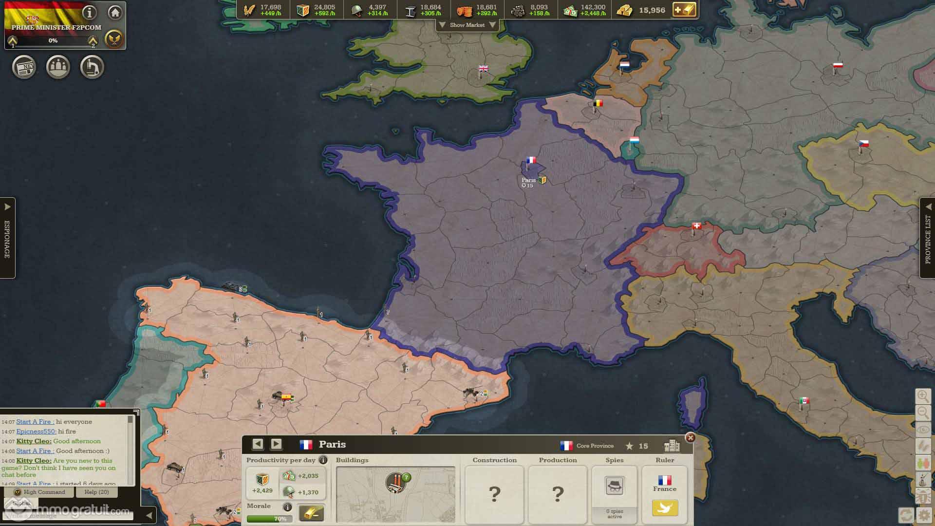 Call Of War De