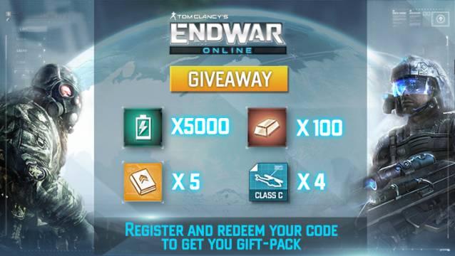 EndWar Online - Promo image