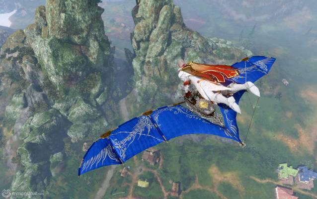 ArcheAge Lapis Fae Wing Glinder screenshot copia