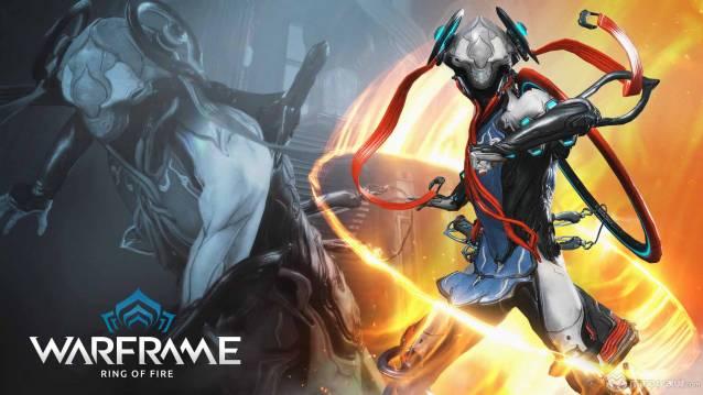 Warframe ring of fire update artwork