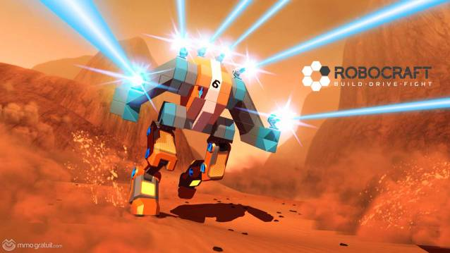 Robocraft Mech Trooper image copia