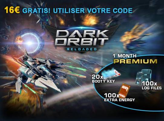 Dark Orbit Giveaway image - FR