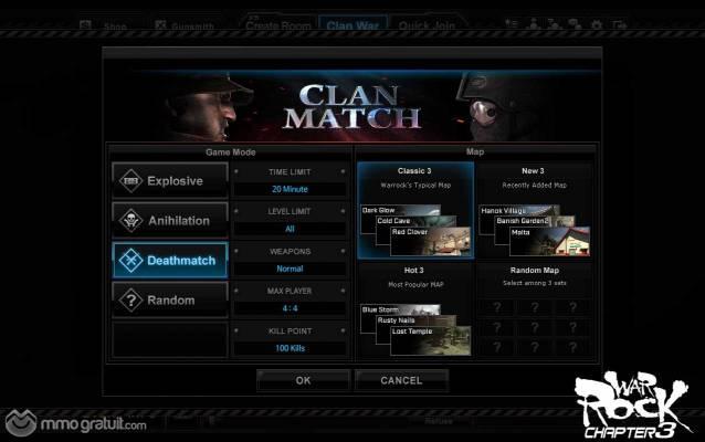 War Rock Clan system image copia