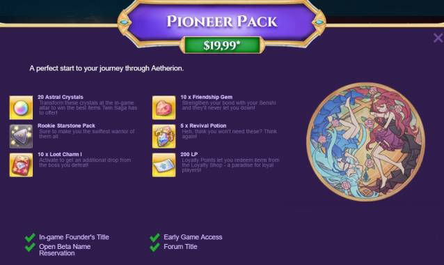Pioneer Twin Saga pack image