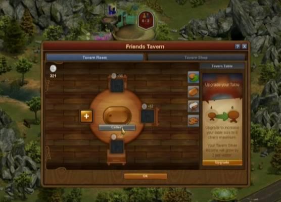 La taverne, nouvel élément social dans Forge of Empires