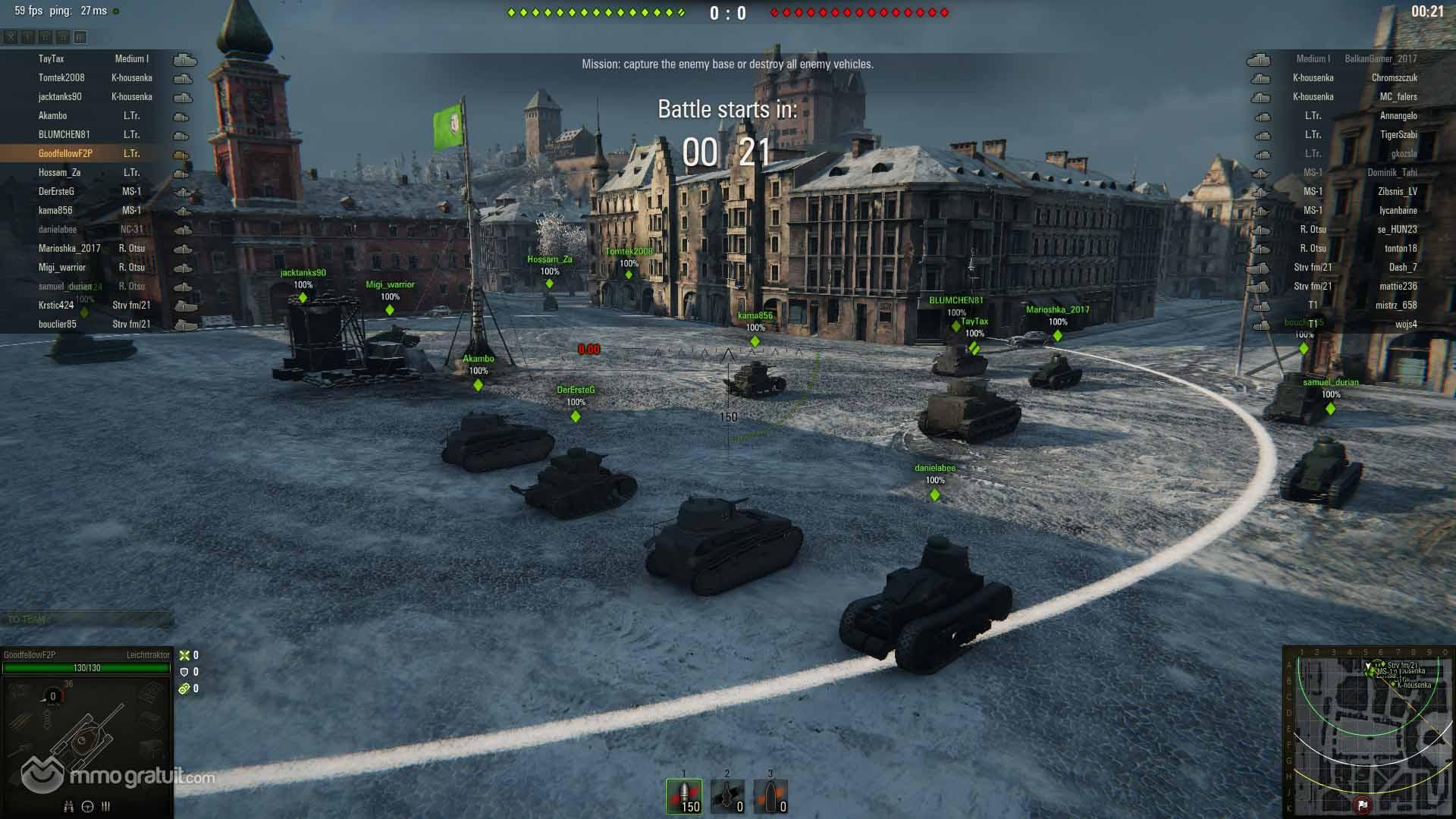 Jeu de stratégie et de combat, World of Tanks vous place dans la carlingue d'un tank. Aux commandes de votre char, vous affrontez des joueurs dans des parties en 15 contre 15 quelque peu ...