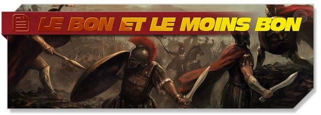Le bon et le moins bon de Sparta: War of Empires
