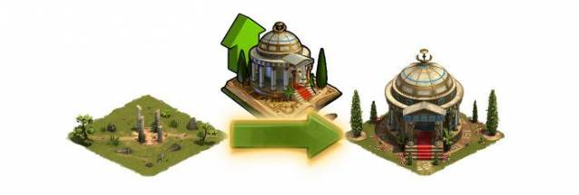 Forge of Empires Tholos d'Idoles
