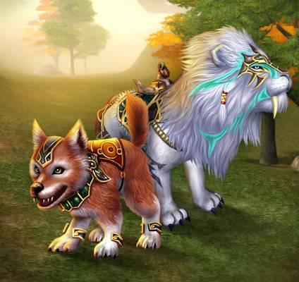 Metin2 Lion Blanc