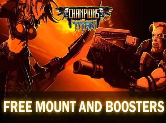 Champions of Titan est un MMORPG de Science-fiction avec un système de combat rapide et un PvE comme dans les RPG d'action