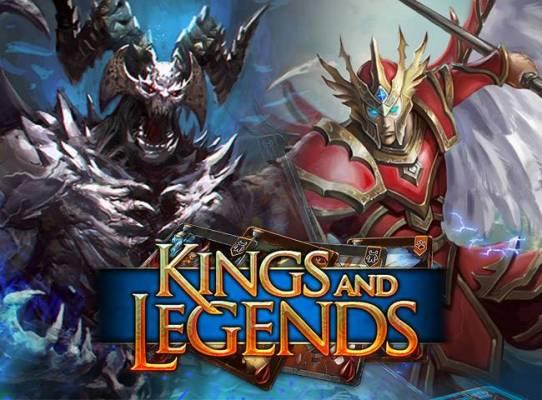 Packs d'items gratuits pour les nouveaux joueurs de Kings and Legends