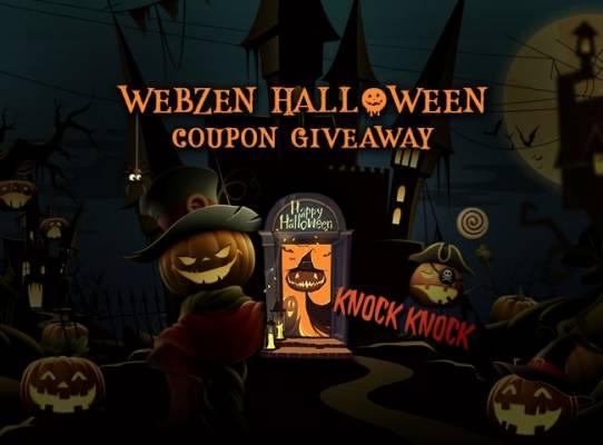WebZen Halloween Objets Gratuits. WebZen est un éditeur mondial deTous les jeux gratuits mmo pour PC. Jeux RAPPELZ, MU ONLINE, MU LEGEND, FLYFF, ou C9