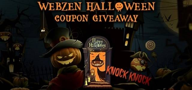 WebZen Halloween Objets Gratuits