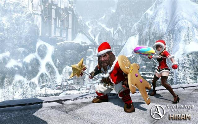 ArcheAge Christmas Event