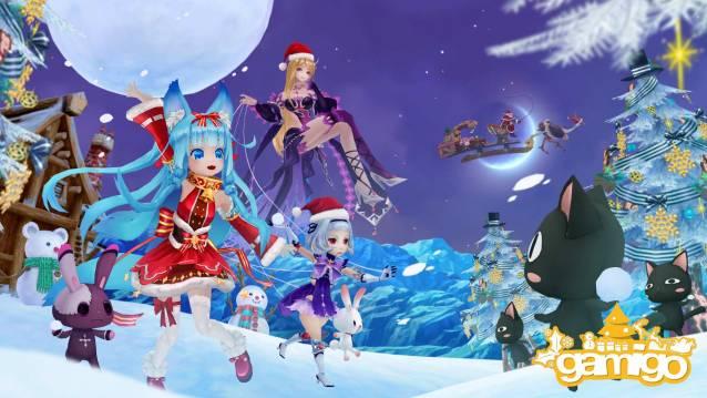 Aura Kingdom est un majestueux MMORPG - Aura Kingdom Christsmas