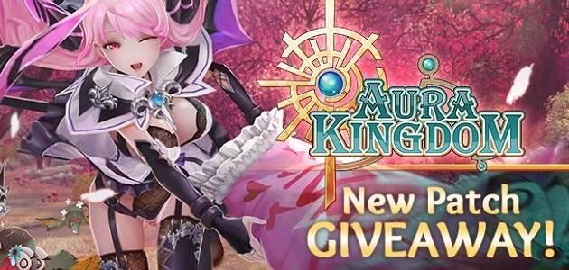 Nouveau giveaway cadeau pour Aura Kingdom