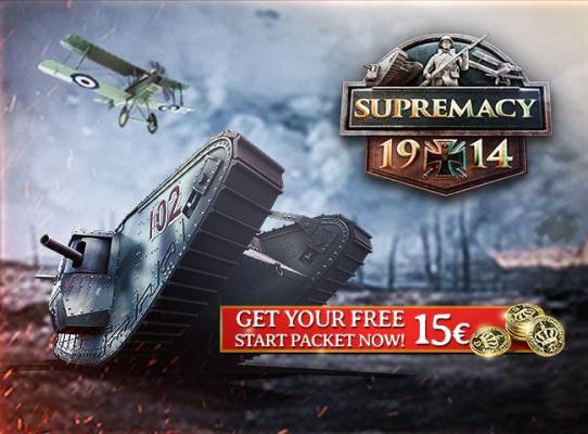 Starter Pack Supremacy 1914 The Great War - Supremacy 1914 Objets du jeu gratuits