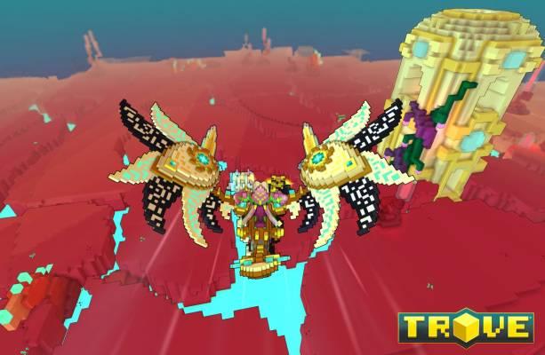"""Trove Jhorondir Dragon - Trove : La mise à jour """"Combat de Cristal"""" disponible sur console dès maintenant"""