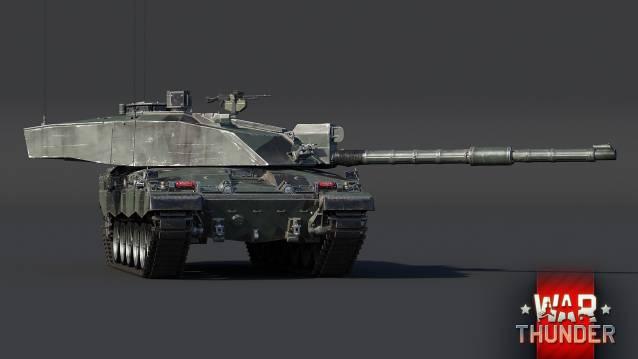 War Thunder Challenger 2 c