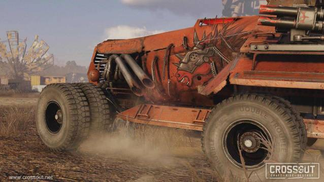 Crossout Hell Horse Sticker