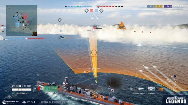 World of Warships: Legends met le cap sur l'accès anticipé  - WG_WoWSL_Screenshots_Action_PS4_UI_03