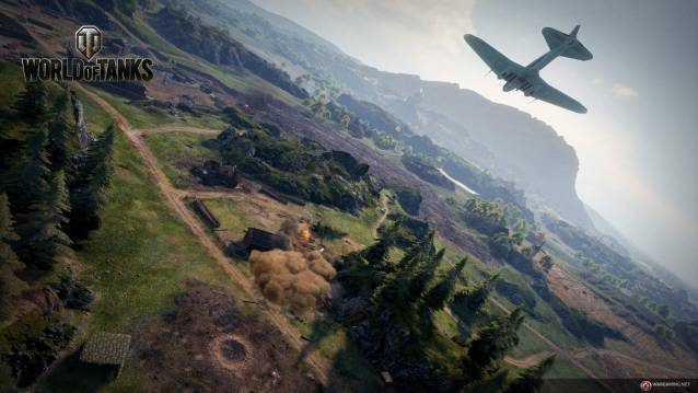 World of Tanks dévoile son mode Frontline - Wolrd Of Tanks Frontline Map Screenshot