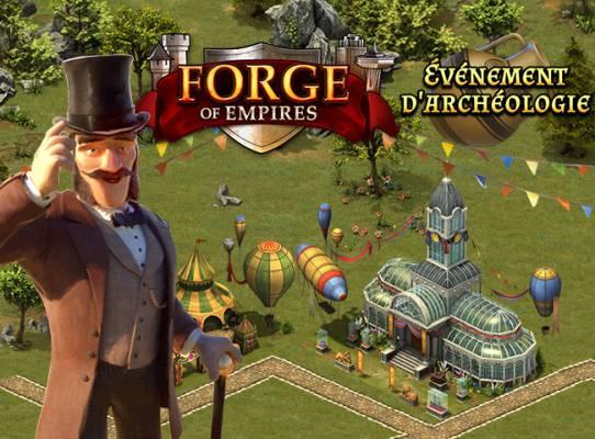 Forge of Empires Événement d'archéologie