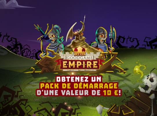 Items gratuits pour Goodgame Empire