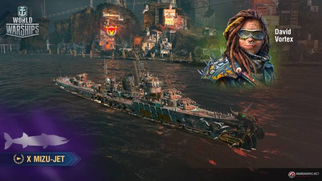 World of WarShips Screenshots Post Apocalypses event MizuJet