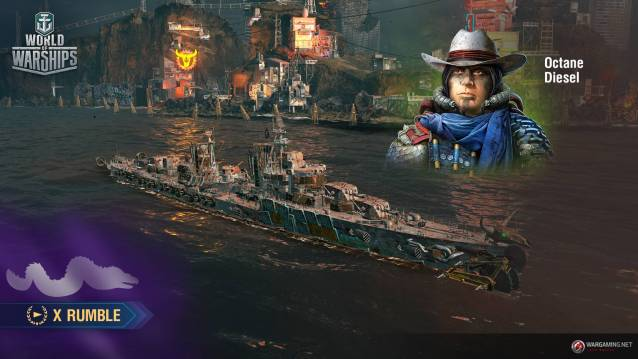 World of WarShips Screenshots Post Apocalypses event X Rumblre