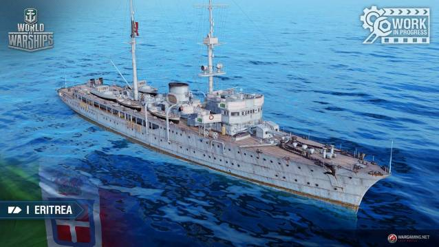World of WarShips Marien Italienne Eritrea Screenshot