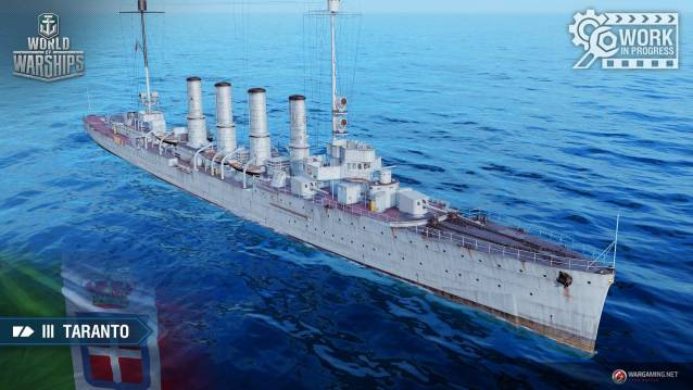 World of WarShips Marien Italienne Taranto Screenshot