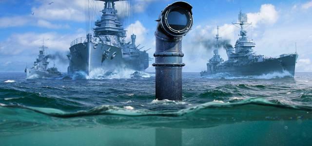 Les sous-marins sont en approche dans World of Warships