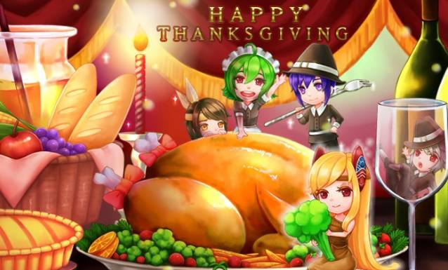 Grand Fantasia : de jolis donjons pour Thanksgiving