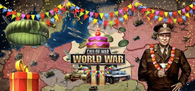 5e anniversaire Call of War ici sur MMOGratuit