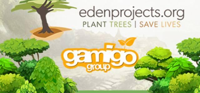 Gamigo avec Eden Reforestation Projects