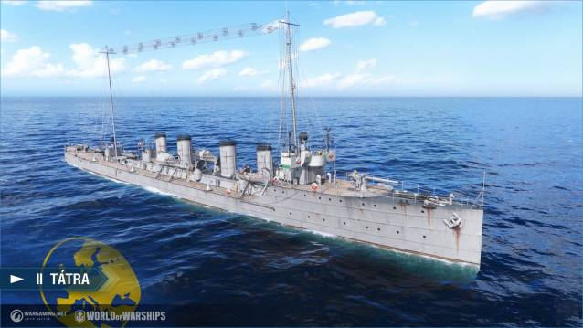 World of WarShips screenshots II Tátra