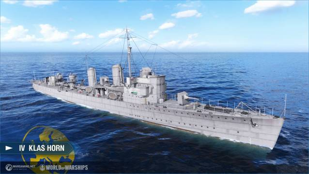 World of WarShips screenshots IV Klas Horn