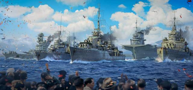 World of Warships prépare une parade navale